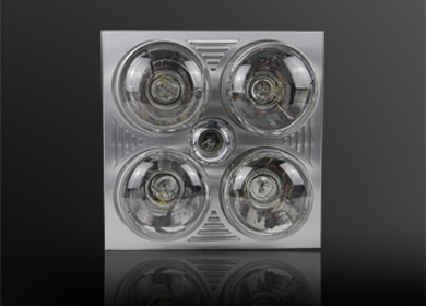 集成吊顶灯暖型浴霸(铝面板)