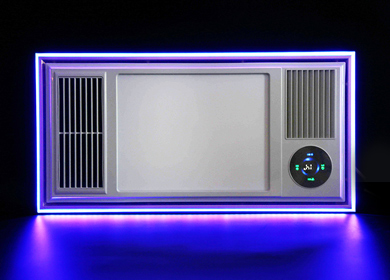 BY-2A PTC风暖型浴霸(氛围灯)