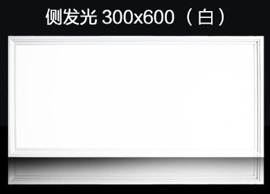 集成吊顶铝扣板LED灯300*600(白色)