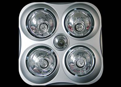 传统四灯泡取暖浴霸