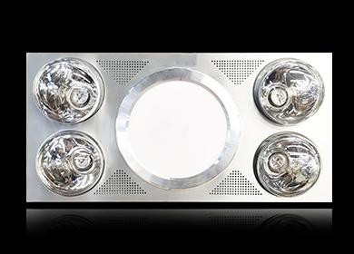 708A(车圈)灯暖型浴霸